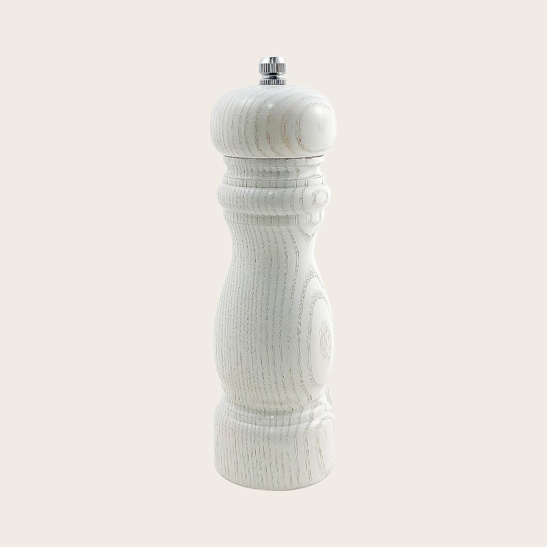 Macinapepe in legno bianco lama in ceramica