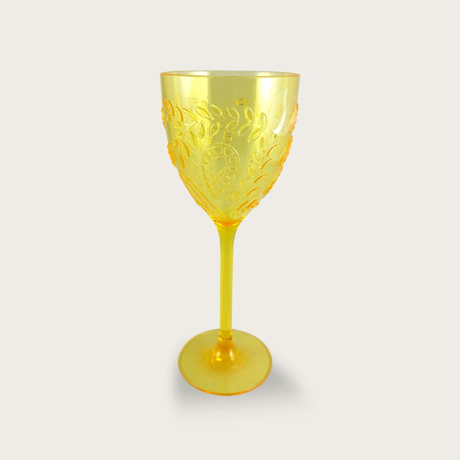 CALICE GIALLO ACRILICO CRYSTAL 40CL