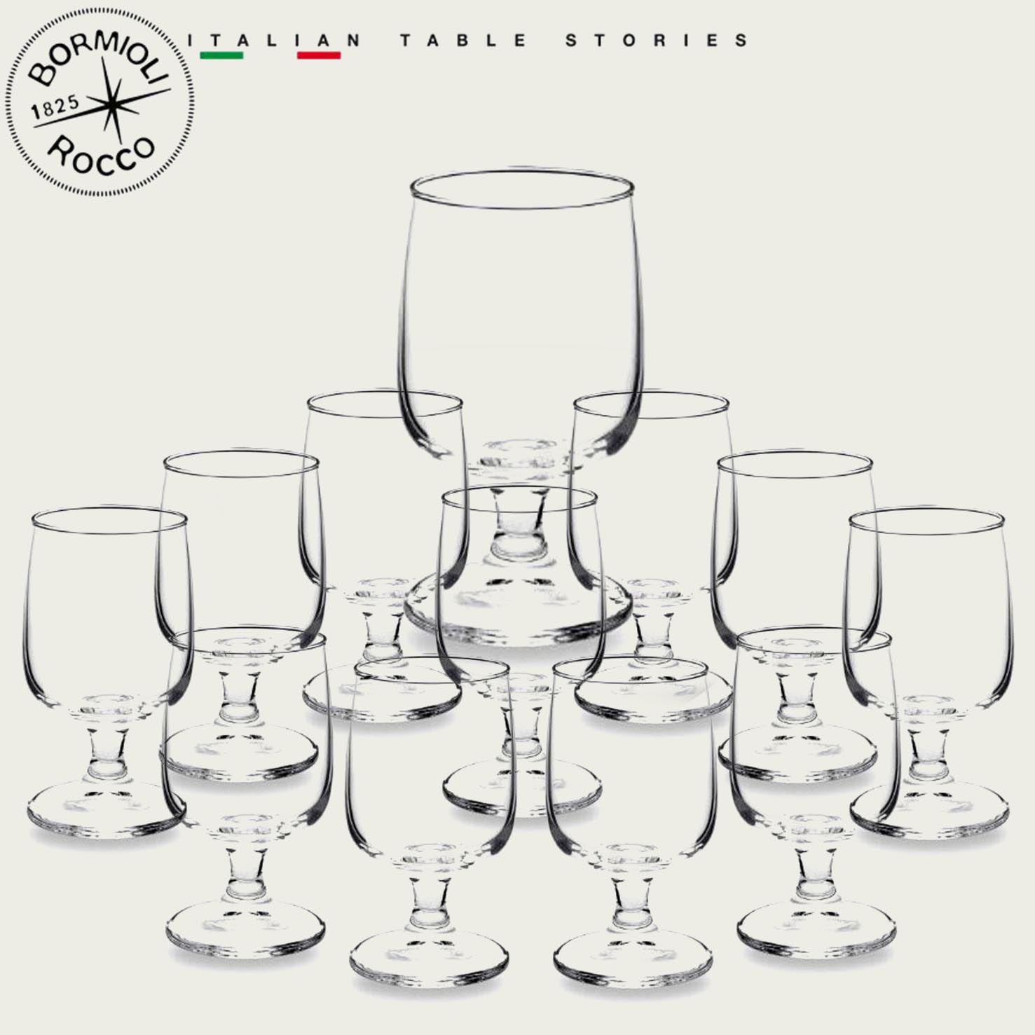 SET 12 CALICI EXECUTIVE VINO 28,7cl