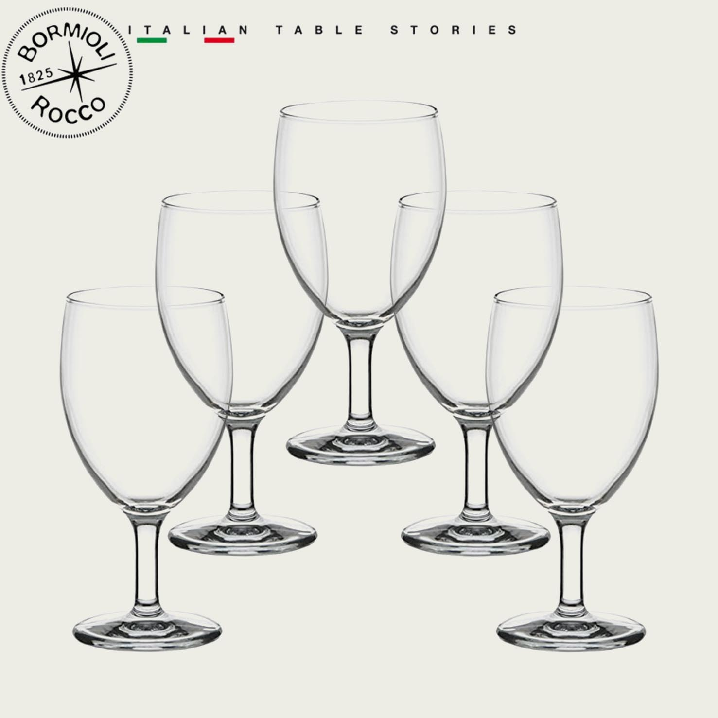 SET 6 CALICI VINO ECO 18cl