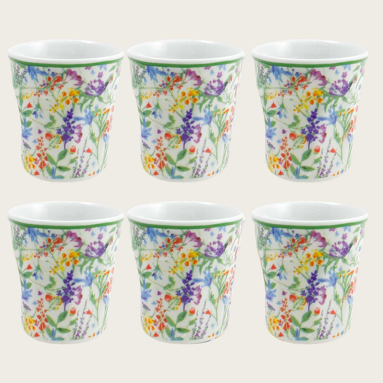 SET 6 BICCHIERINI DA CAFFE' SPRING