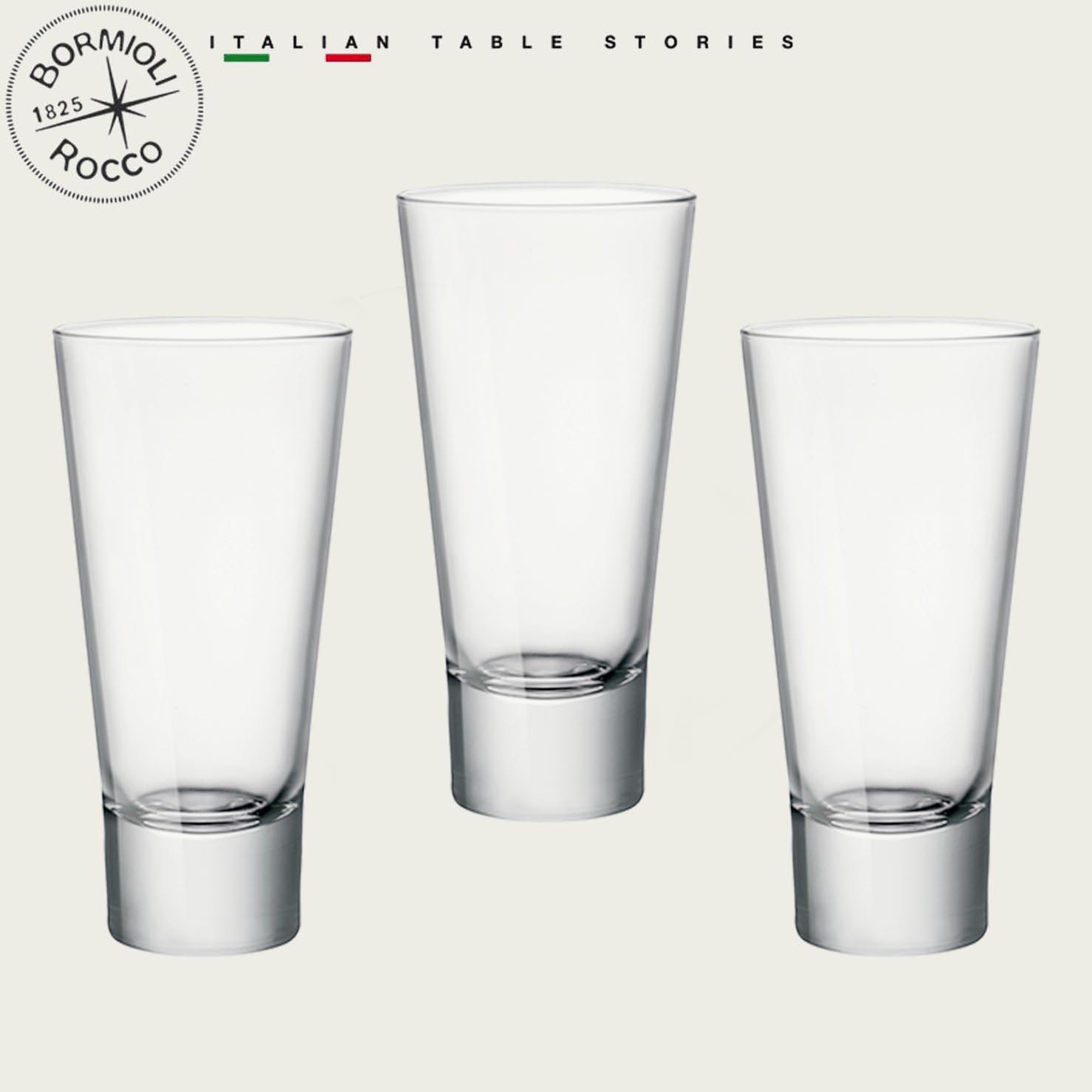 BORMIOLI SET 3 BICCHIERI YPSILON LONG DRINK 24CL