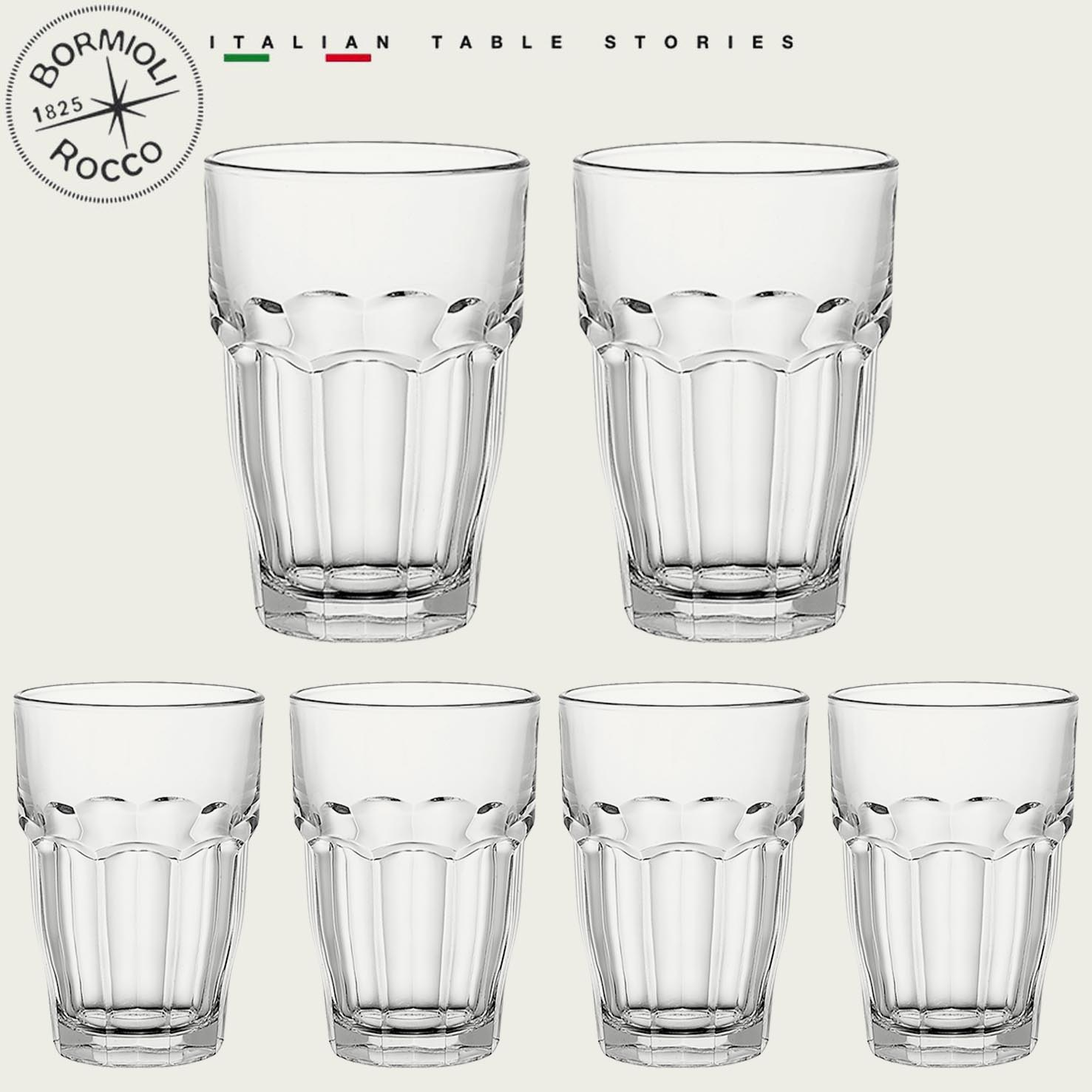 BORMIOLI SET 6 BICCHIERI ROCK BAR 37CL
